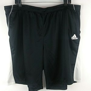Adidas Climalite athletic shorts mens 2XL